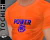 #T Power Jersey #Orange