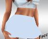 LT Blue Pleated Skirt
