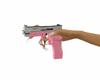 Cute pink girly gun