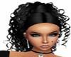~S~ Black Megan Hair