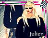 J| + black shoulders +