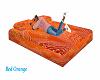 Bed Orange  multi pose