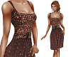 TF* Brown Crochet Dress