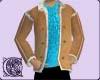 Sheepskin Jacket (Blue)