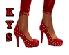 (KYS)Red Party Heels