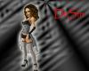 Silver Burlesque Outfit