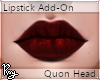 Wine Red Lipstick - Quon