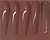 I│Shiny Nails Brown