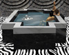 Lover's marble hot tub