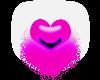 tiny heart purple
