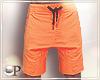 Summer Shorts Orange
