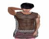 sexie black net shirt