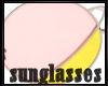 Pink-yellow▲Sunglasses