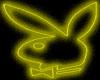 Yellow Playboy Bunny