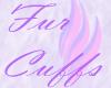 AV Crissy Fur Cuffs