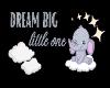 Dream Big Nursery Decal