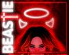 Neon Devil Horns + Halo