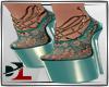 [DL]shoes teal