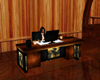 rearing satallion desk