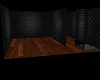 Goth room with basement