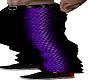 purple/black reg pants