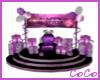 Purple B-Day Throne