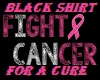 FIGHT/4/A/CURE/BLK/SHIRT