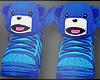 😆KAWAII BLUE SNEAKERS