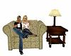 Cabin Cuddle Chair Coffe