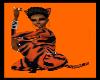 tiger bow tie costume
