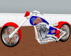 USA Flag Bike