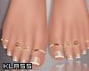 K!Talia Pedicure + Rings