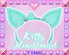 Kitty Ears   Teal