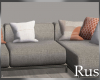 Rus Burke Sleek Sofa