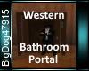 [BD]WesternBathroomPorta