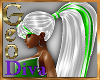 Geo Mel white green