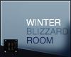 // Winter Blizzard Room