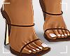 ṩLena Heels Brown