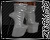 !DS!Silver Latex Stileto