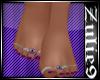 Bare Feet /Pink Polish