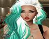 Brandi Aqua White