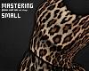 Leopard Print Black - S