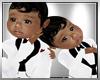 BABYBOY TWINS WHITE SUIT