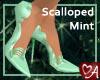 .a Scalloped Spike Mint