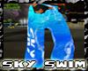 //S// Sky Swim Shorts