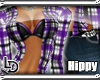 [LD] Purple Plaid Hippy