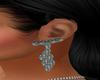 Silver Earrings Iris