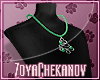 ZC Green Tree Necklace