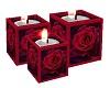 Valentine Rose Candle