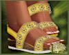 LS~Boho Beaded Sandals